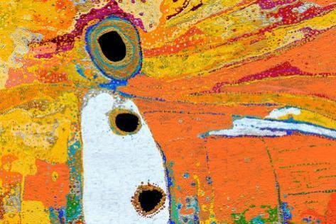 Winpa and sons, acrylique sur toile de Daniel Walbidi